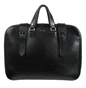 Balenciaga black over night travel bag