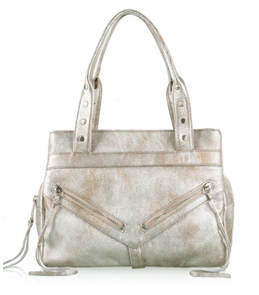 Botkier Metallic Trigger Medium Leather Satchel