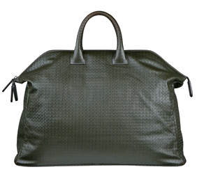 Zagliani grey weekend bag