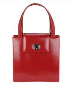 bulgari-red-leather-bag
