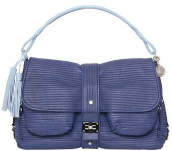 lanvin-pise stitch shoulder bag