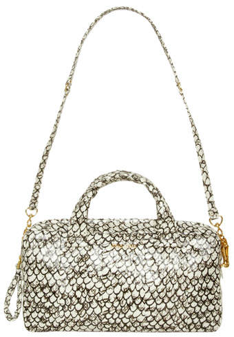 miu miu patent leather python bag