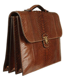 zagliani-mens-tan-python-briefcase
