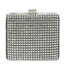 Jaeger Loren Crystal Box Clutch
