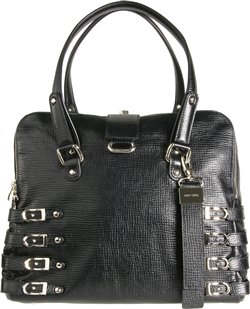 Jimmy Choo Blythe Multi Strap Leather Bag