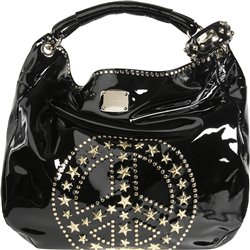 Jimmy Choo Sky Peace Patent Leather Tote