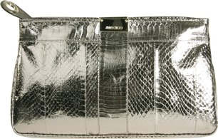 Jimmy Choo Zulu Metallic Clutch