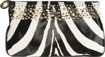 Jimmy Choo Zulu Zebra Clutch