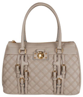 Marc Jacobs beige quilted handbag