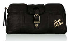 See by Chloé Black Rise & Shine Pouch Clutch