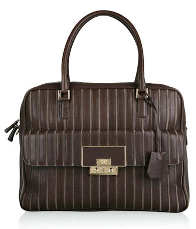 Anya Hindmarch Charcoal Cassie Tote