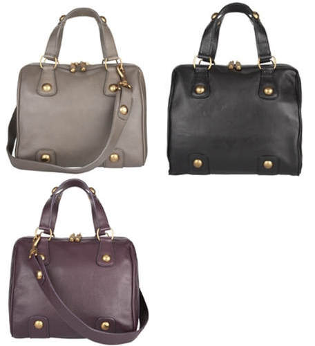Jaeger Tilly bag smooth leather black lilac beige