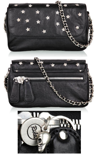 Rika Zoe Studded Chain Bag