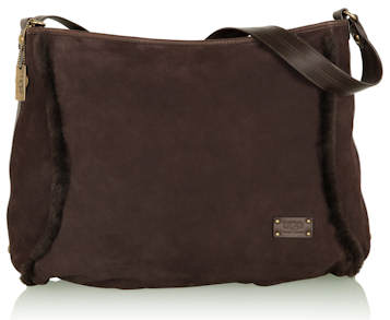 Ugg Australia Chocolate Large Messenger Bag
