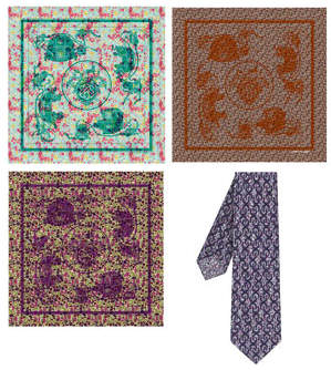 hermes-pour-liberty-scarves-and-ties
