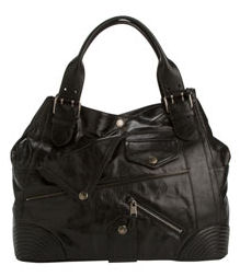 Alexander McQueen Black Leather Small Faithful Tote