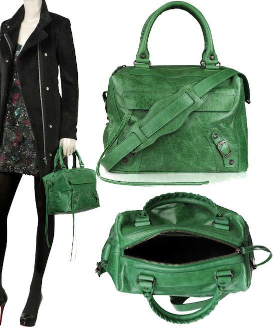 Balenciaga Metro Bag in Green