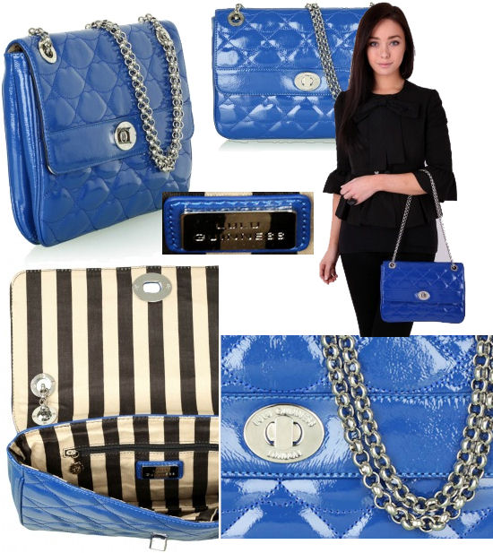 Lulu Guinness Quilted Anna Chain Bag