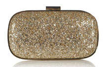 Anya Hindmarch Marano Clutch in Gold