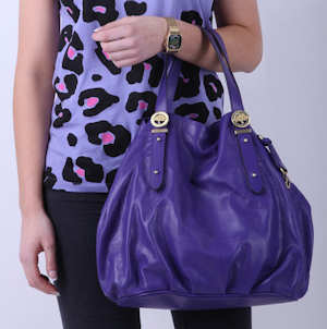 Mulberry Drew Tote in Blueberry