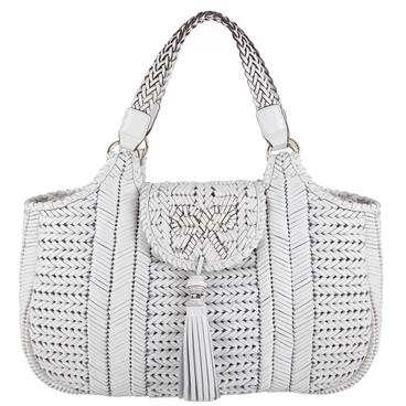 Anya Hindmarch Neeson Bag in White