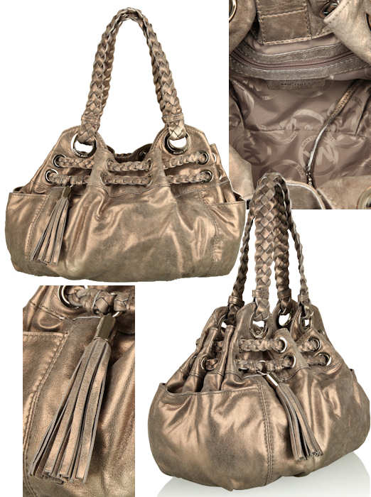 Michael by Michael Kors Braided Astor Grommet Bag