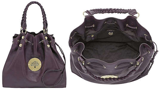 Mulberry Daria Drawstring Tote Bag In Oxblood