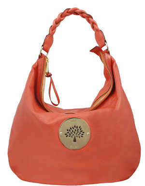 Mulberry Daria Hobo in Tangerine