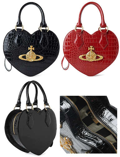 Vivienne Westwood Chancery Heart Bag