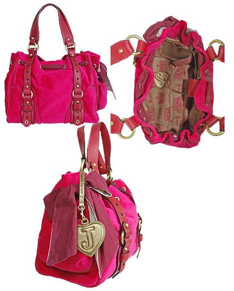 Juicy Couture Day Dreamer Bag - Pink
