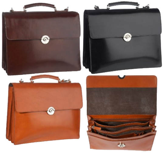 Leonhard Heyden Windsor Briefcase
