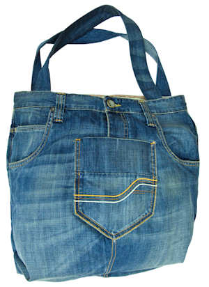 Fat Face Upcycle Denim Bag