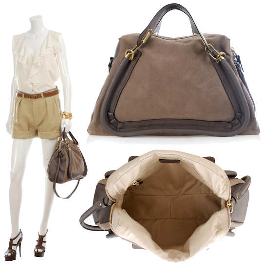 Large Chloe Paraty bag | Designer Handbags