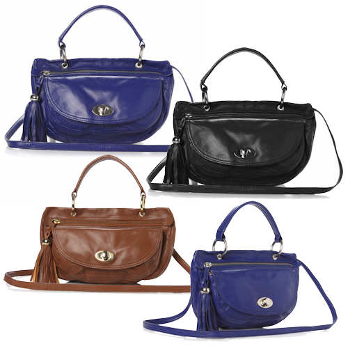 French Connection Acid Drop Leather Bag