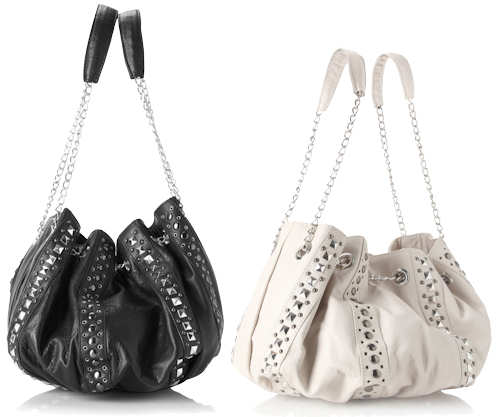 French Connection Leather Studlet Bag
