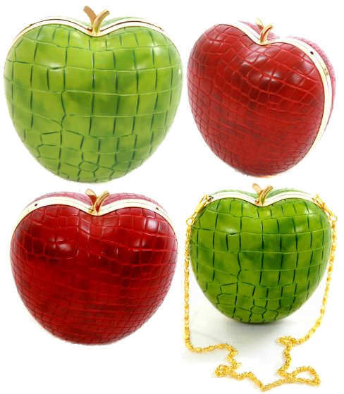 Vendula Apple Clutch Bag