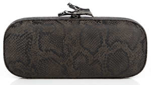 DVF Lytton Minaudiere Box Clutch Black
