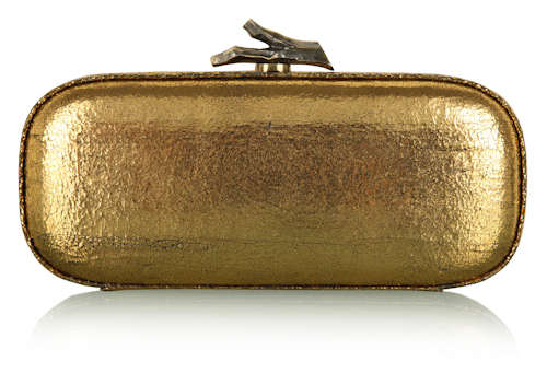 DVF Lytton Minaudiere Box Clutch