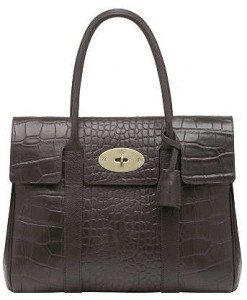 Mulberry Bayswater Chocolate Bag