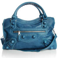 Balenciaga Giant City Bag Blue