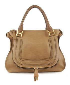 Chloe Marcie Bag - Light Brown