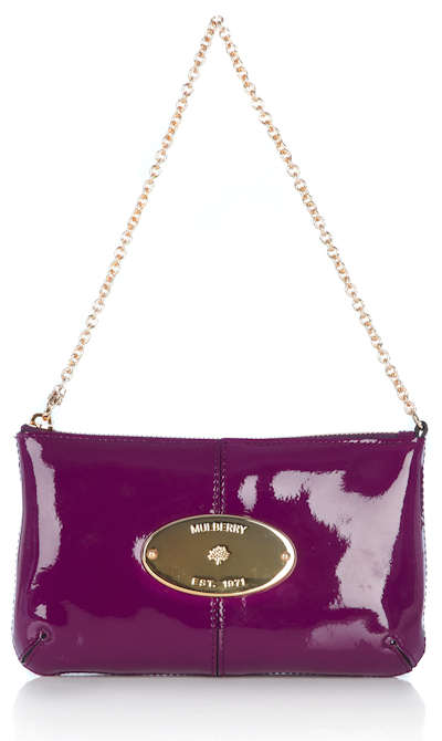 Mulberry Charlie in Plum