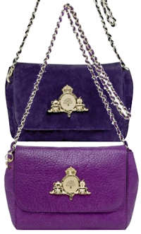 Mulberry Margaret Mini Bag in Grape and Plum