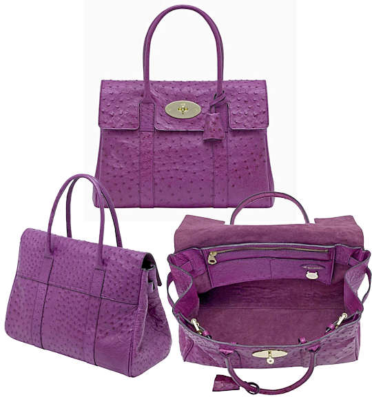 Mulberry Ostrich Bayswater   Designer Handbags ce18d80dfb