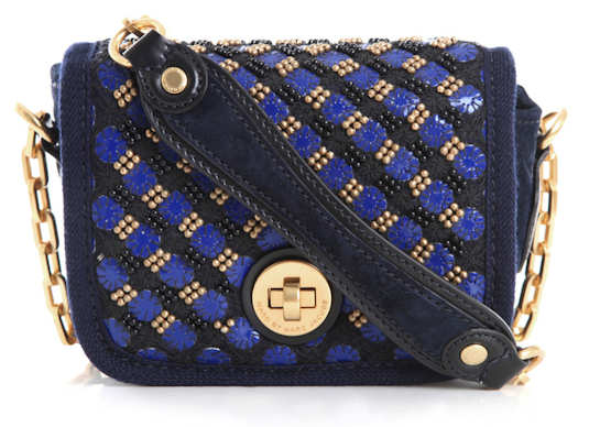 Marc by Marc Jacobs Perfect Purse Bag in Blue and Gold