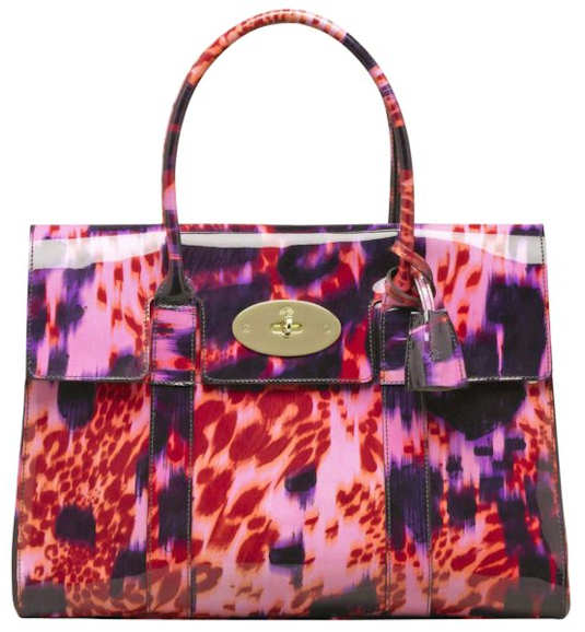 Mulberry Bayswater Loopy Leopard Bag