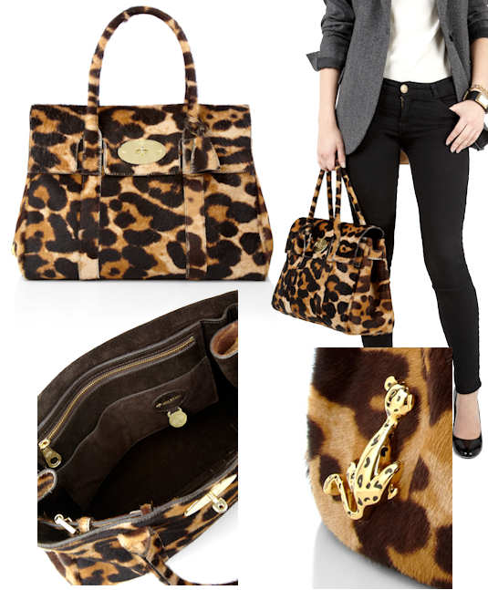 Mulberry Giant Leopard Haircalf Bayswater