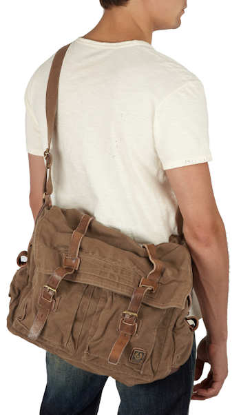 Belstaff Mountain Canvas Bag