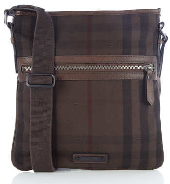Burberry Exploded Check Canvas Day Bag