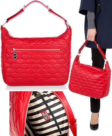 Lulu Guinness Red Ruthie Bag